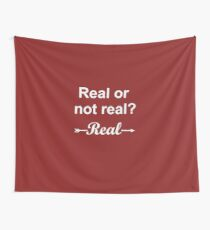 Hunger Games Real or Not Real 2 Wall Tapestry