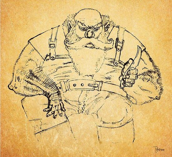 The Fisherman by Ben Rhys-Lewis