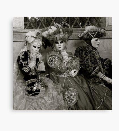 Carnavale di Venezia Masks IV Canvas Print