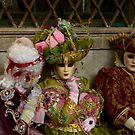 Carnavale di Venezia Masks V by Louise Fahy