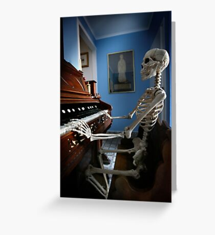 Play it Again Billy ! Greeting Card