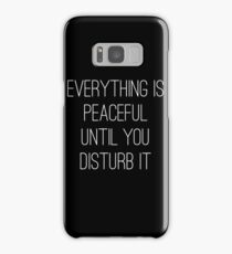 Peaceful Samsung Galaxy Case/Skin