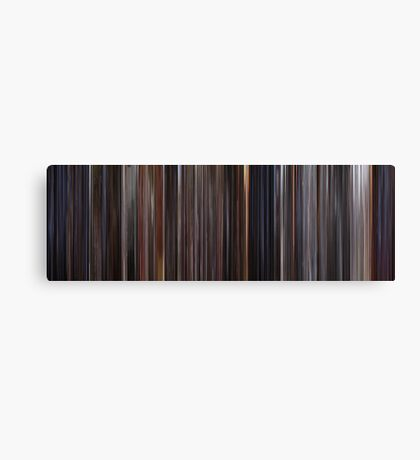 Moviebarcode: E.T.: The Extra-Terrestrial (1982) Canvas Print