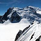 The Mont Blanc Massif by John Gaffen