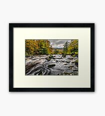 Autumn Rapids Framed Print