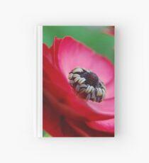 Red Ranunculus Hardcover Journal