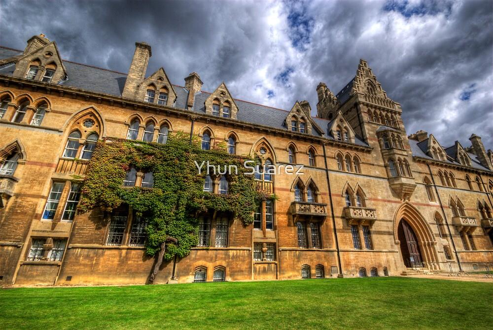 Christ Church College - Oxford, England by Yhun Suarez