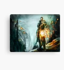 Warrior of the day Canvas Print