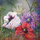 Poppies Passing by Mikki Alhart