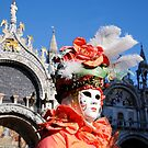 Carnavale di Venezia Masks VII by Louise Fahy