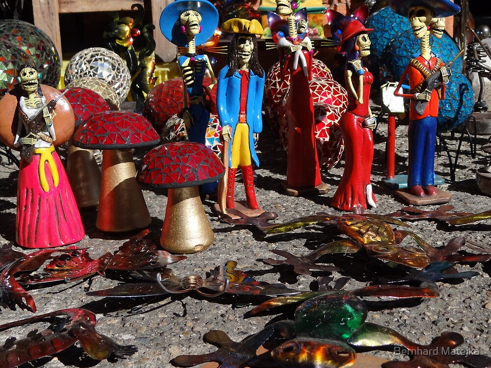Mexican Artworks And Colours - Arte Y Color De Mexico by Bernhard Matejka