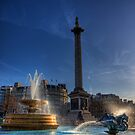 Trafalgar square in the morning by NeilAlderney