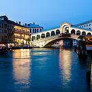 Rialto bridge in Venice, Italy by Maxim Mayorov