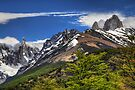 Mountain Peaks - Los Glaciares by Peter Hammer
