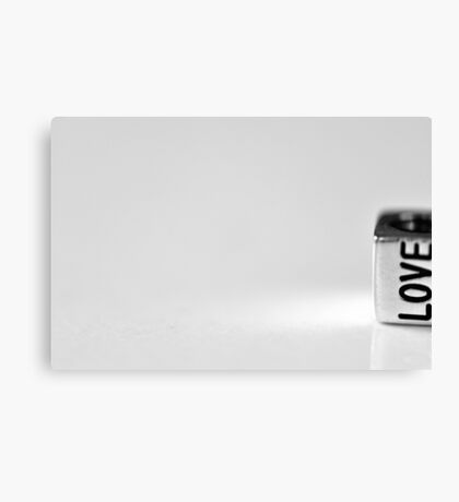 A little bit of love on the side Canvas Print