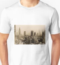 Camiseta unisex Vintage New York City Skyline Photograph (1935)