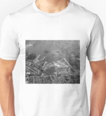 U.S. Naval Yard in Brooklyn NY Photograph (1932) T-Shirt