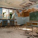 Abandoned school class by Maxim Mayorov