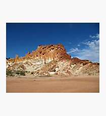 The Colour of the Outback! Rainbow Valley, N.Territory Photographic Print