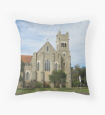 St. Pauls Anglican Church, Roma, Central. Que. Throw Pillow