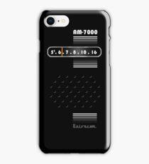 Transistor Radio - 70's Black iPhone Case/Skin