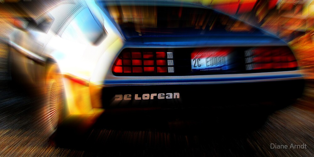 Shwoosh......De Lorean by Diane Arndt