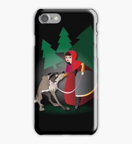 Twisted - Red Riding Hood iPhone case iPhone Case/Skin