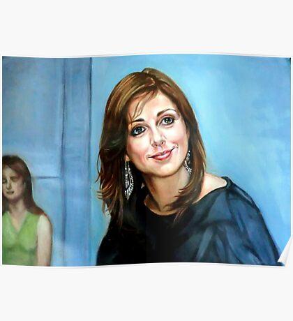 Portrait of Katia Guerreiro Poster