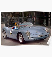 Porsche 550 Spyder Replica 1961 Poster