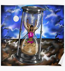 """""""Hourglass Limbo"""" Poster"""
