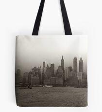 Bolsa de tela Vintage New York City Skyline Photograph (1941)