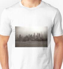 Camiseta ajustada Vintage New York City Skyline Photograph (1941)