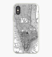Vinilo o funda para iPhone Vintage Map of New York City (1811)