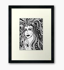 """""""Black Arachnid"""" Framed Print"""