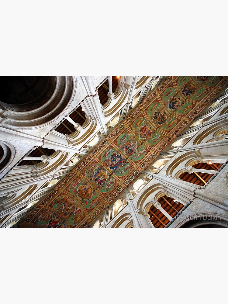 Ely Cathedral Ceiling by JohnDalkin