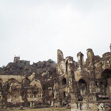 Golconda Ruins by Shemah11