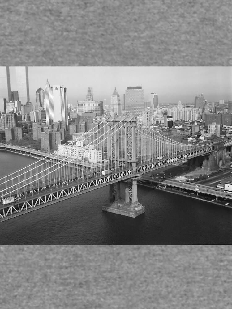 Manhattan Bridge Black and White Photograph de BravuraMedia