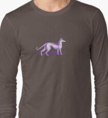 Camiseta de manga larga Purple Whippet