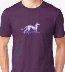Purple Whippet Unisex T-Shirt