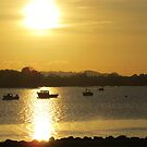 Winter sun in Hole's Bay by Songwriter