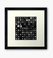 Messier Image Map Framed Print