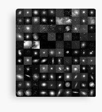 Messier Image Map Canvas Print