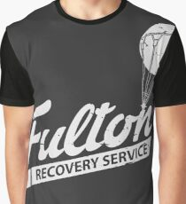 Fulton Recovery Service - White - Damaged Graphic T-Shirt