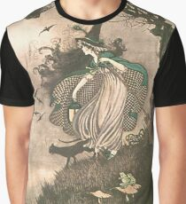 Grimm's fairy-tale witch Graphic T-Shirt