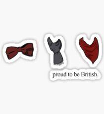Proud to be British - TV Series Sticker