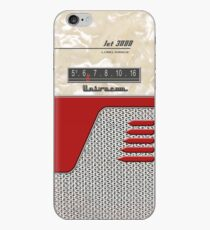 Transistor Radio - 50's Jet Red iPhone-Hülle & Cover