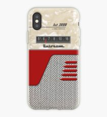 Transistor Radio - 50's Jet Red iPhone Case
