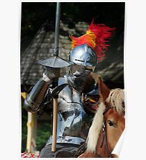 Knight in shinning armour Poster