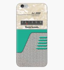 Transistor Radio - 50's Jet Green iPhone-Hülle & Cover
