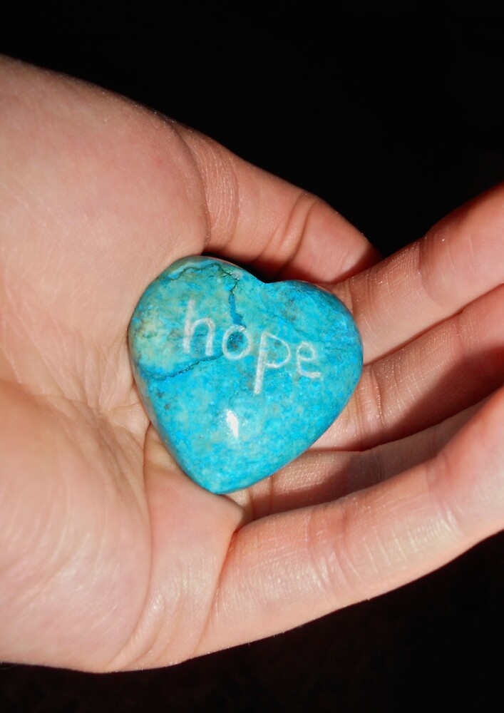 Keep a hold on hope... by Emily Clarke